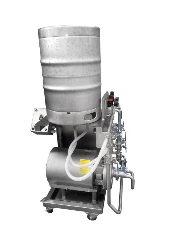 Manual KEG Washing Machine