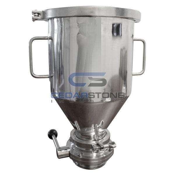 304 Sanitary Stainless 13 Liter Dry Hopper (Hop Doser)