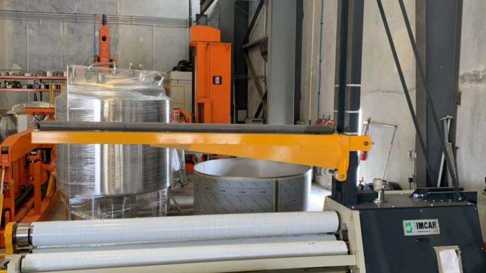 Imcar 4-roll plate roll